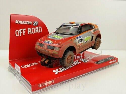 Slot car Scalextric 6265 Mitsubishi Montero Paris Dakar #300 ...